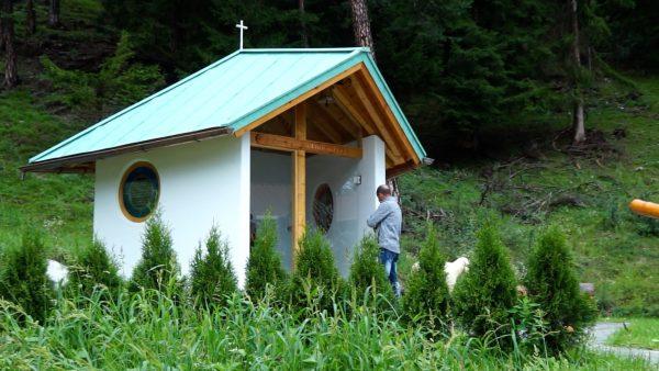 Die neue Kapelle des Schafzuchtvereins Telfs
