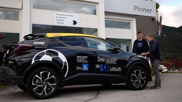 Autohaus Ploner macht SV Telfs mobil