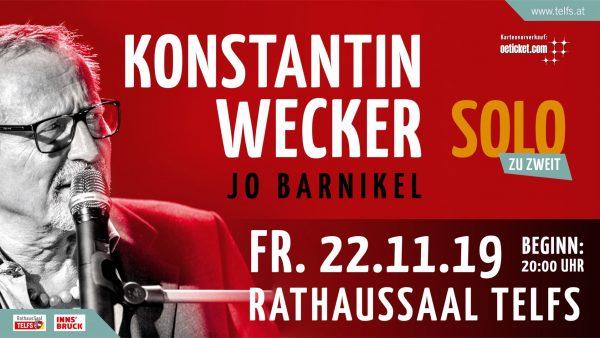 Gewinnspiel Konstantin Wecker