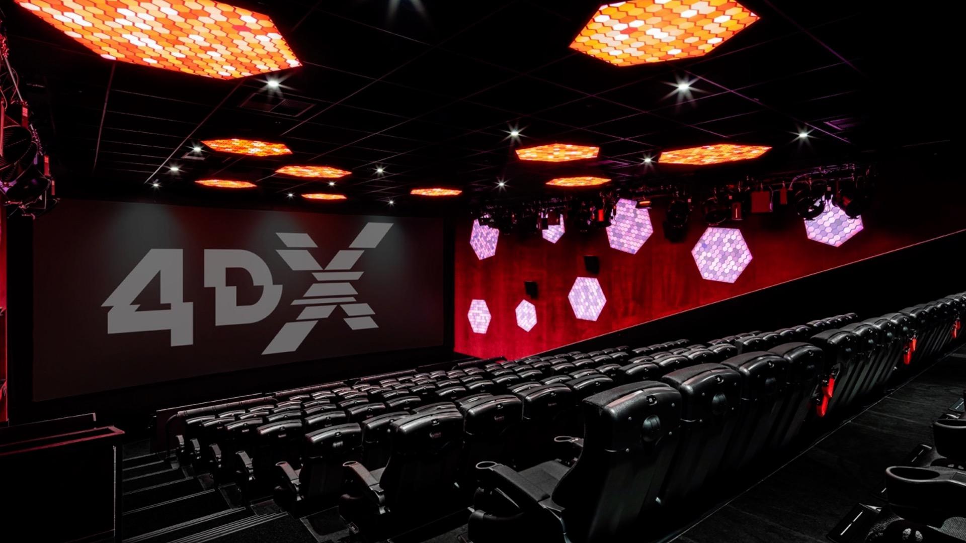 Kinoerlebnis in 4DX