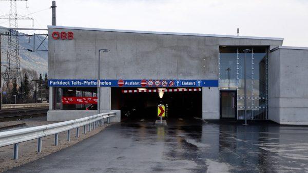 Park & Ride Anlage eröffnet