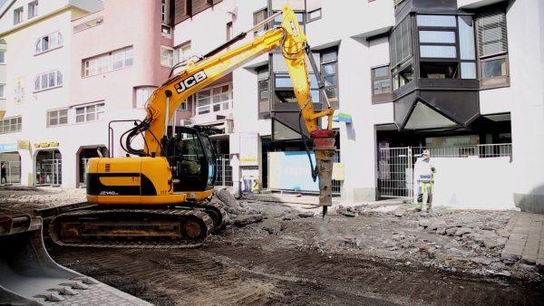 Bauarbeiten im Untermarkt gestartet