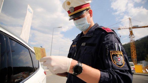 Corona-Kontrollen der Polizei