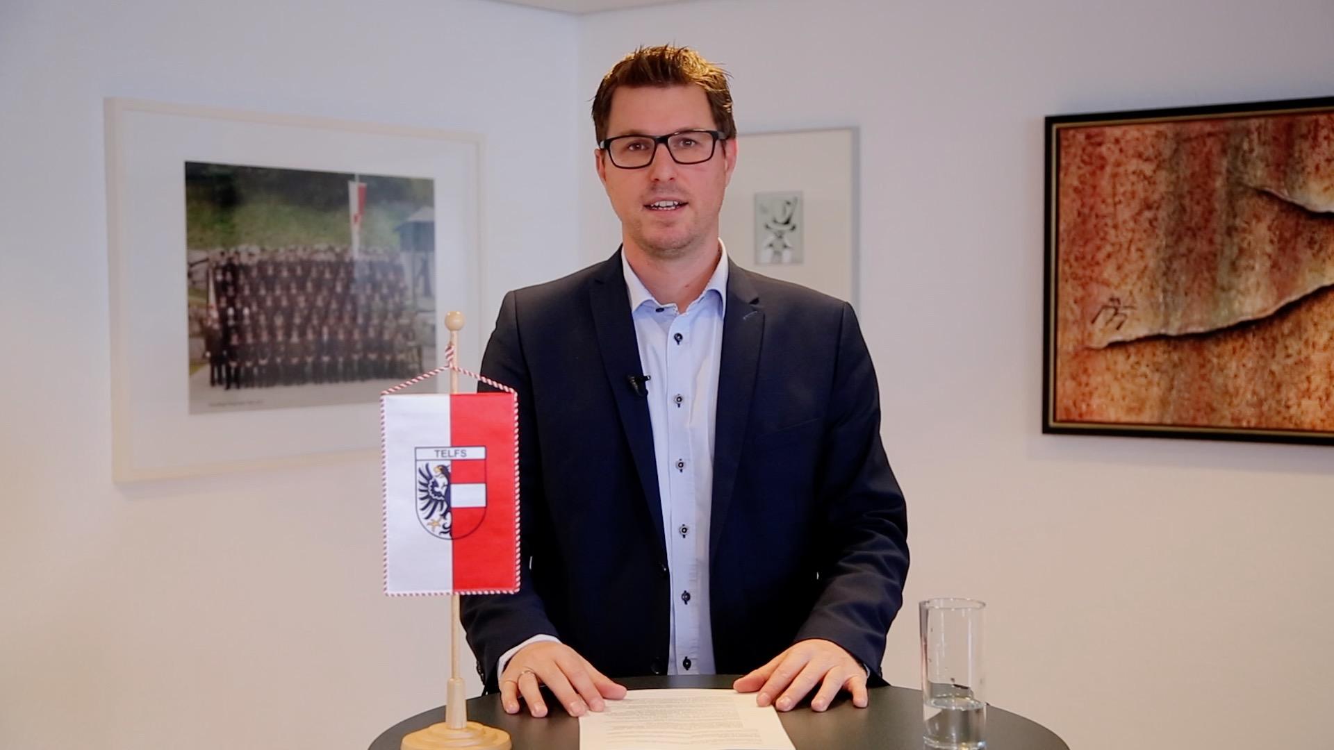 Persönliche Nachricht von Bürgermeister Christian Härting