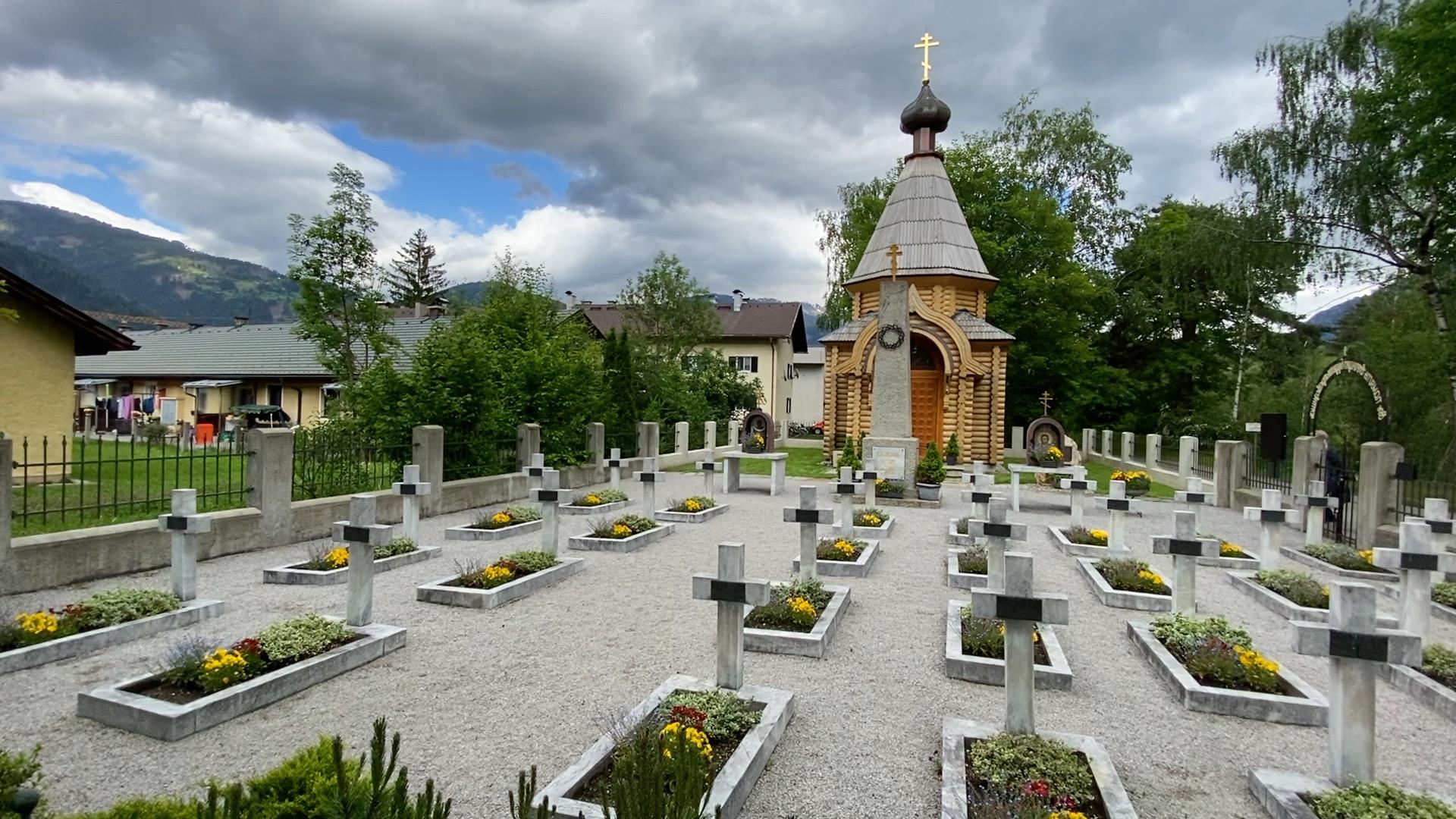 Allerhand aus'm Tyorler Land: Kosakenfriedhof
