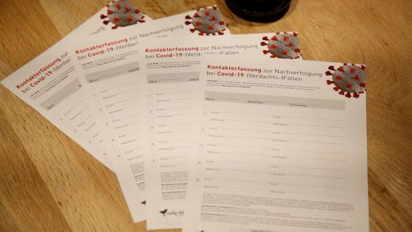 Registrierungspflicht jetzt auch in Tiroler Lokalen