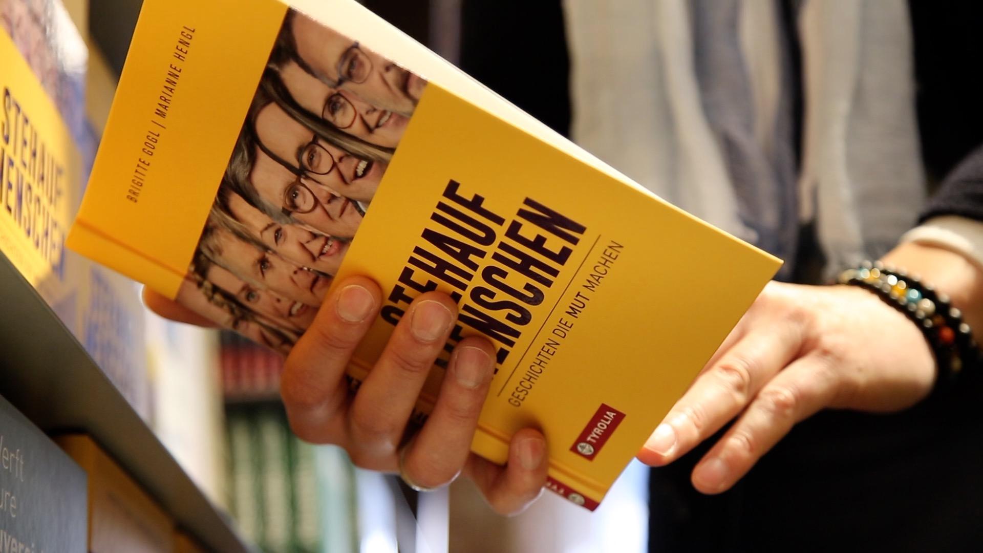 Buch Stehaufmenschen von Marianne Hengl