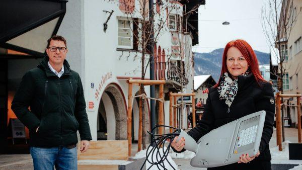 Tirols 1. Strassenbeleuchtungs-Gemeinschaftsprojekt