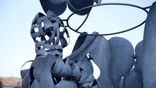 Skulptur kehrt zurück ins Telfer Bad