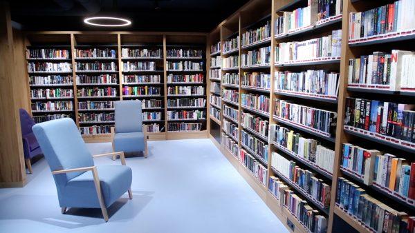 Neue Bücherei ist offen