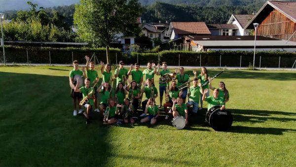 Gemeinsames Musizieren im Jugendblasorchester