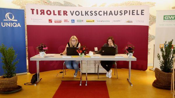 Ticketshop der Tiroler Volksschauspiele eröffnet