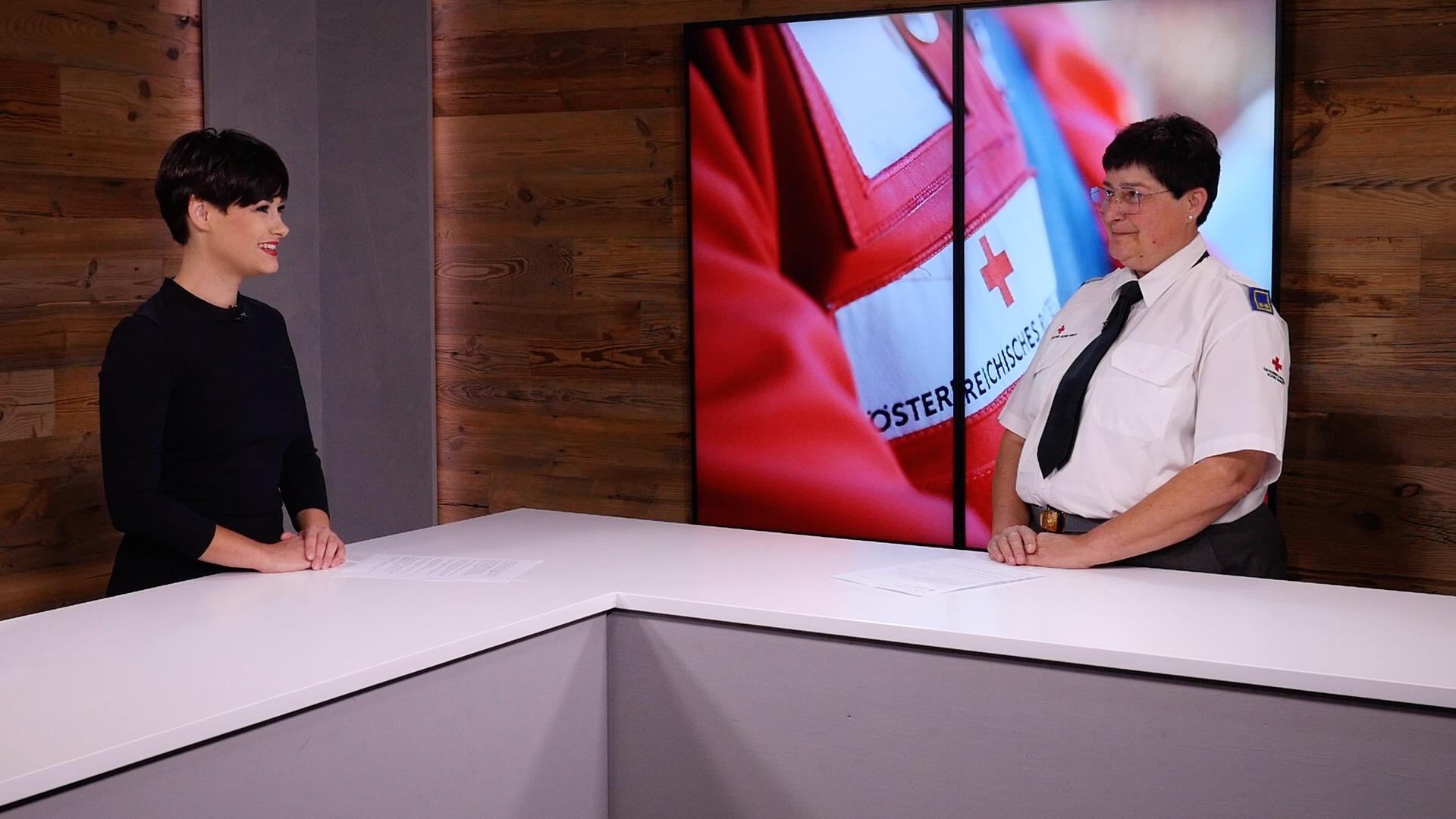 Die erste Frau an der Spitze des Roten Kreuzes
